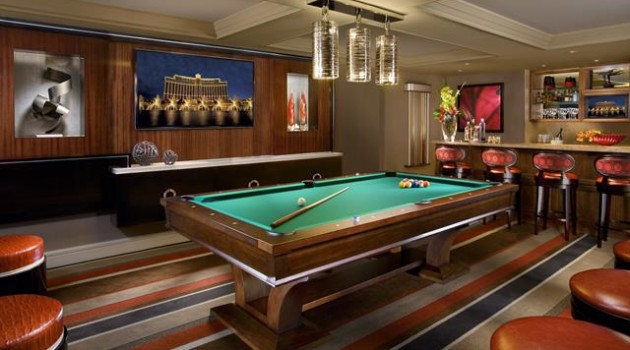 Bellagio Executive Parlor Suite - Billiards