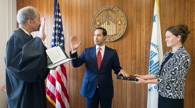 Julián Castro - Secretary for the U.S. Department of Housing and Urban Development HUD -  for HOMBRE Magazine 2