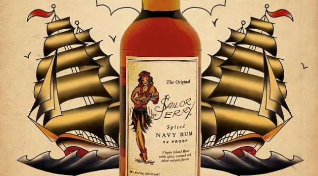 Sailor Jerry Spiced Rum  Rum_boat 640