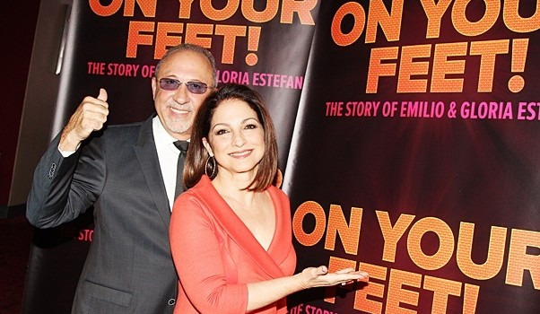 goloria & emilio estefan on your feet 3