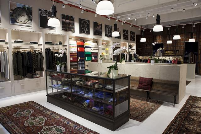 Woolrich Store Soho_Wide-1 for HOMBRE Magazine