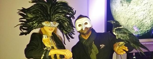 Dos Equis masquerade for HOMBRE Magazine 4