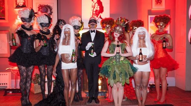 Dos Equis masquerade for HOMBRE Magazine 5