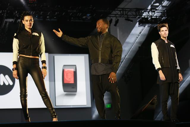 will.i.am and models debut PULS Powear Jackets at Dreamforce Oct 15 2014 by Sandy Huffaker