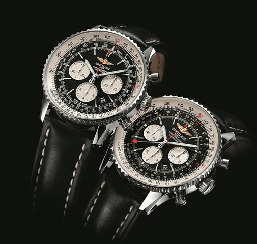 Breitling Navitimer 01 46mm and Breitling  Navitimer GMT for HOMBRE Magazine