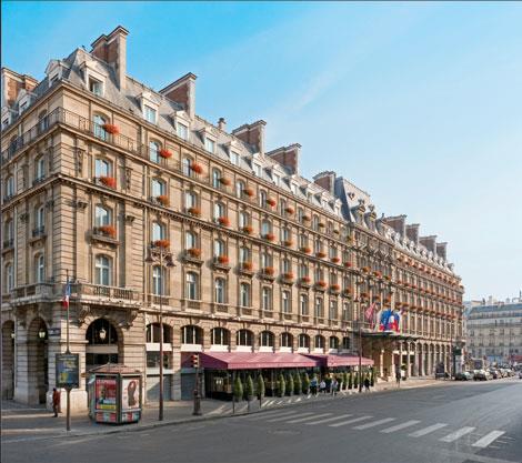 hilton paris opera for HOMBRE Magazine 3