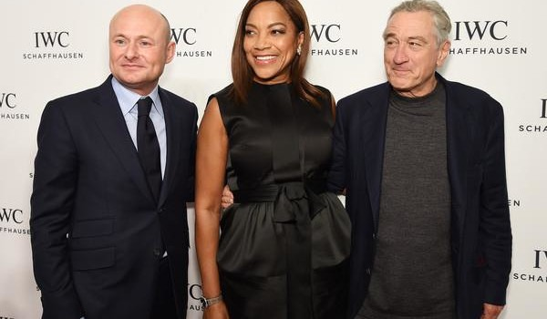 CEO of IWC Schaffhausen Georges Kern, Grace Hightower and Robert DeNiro