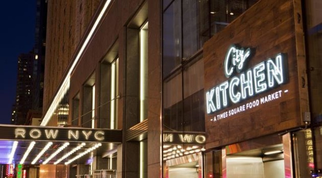 City Kitchen at Row NYC for HOMBRE Magazine RowCItyKitchenSign2