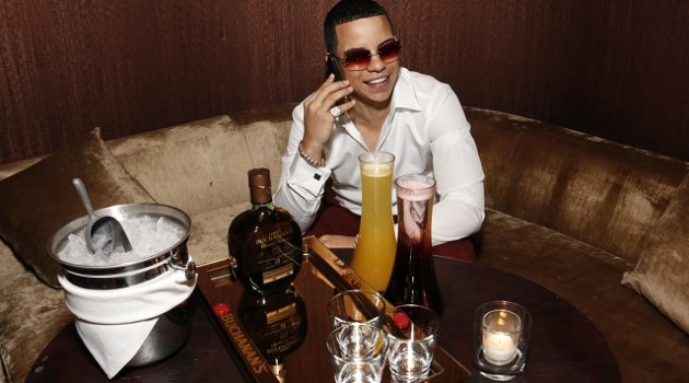 J Alvarez kicked off Latin GRAMMYS week A Lo Grande with Buchanan's whisky in Las Vegas1