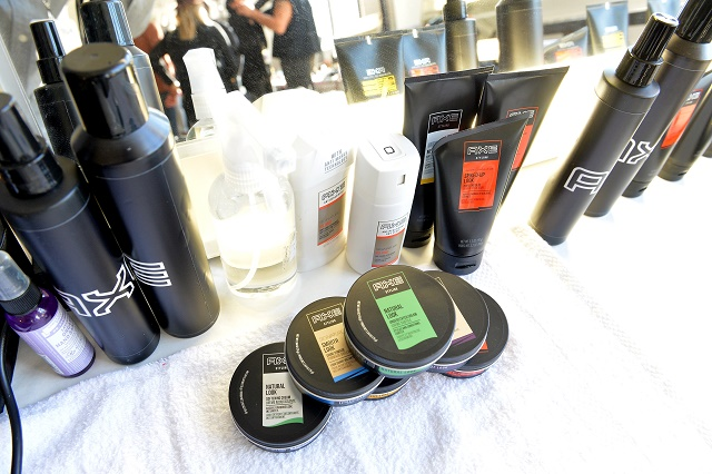 Backstage with AXE at NYFW: Men's