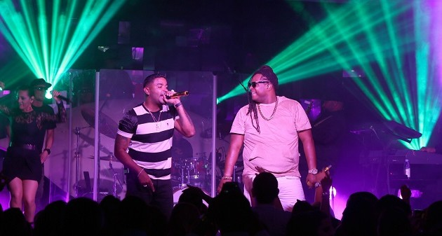 2 Zion & Lennox performing at a private pop-up concert in Miami hosted by Buchanan's Blended Scotch Whisky and Warner Music Latina for influencers, VIPs and a select number of fans1