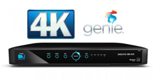 direct tv 4K Genie